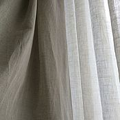 Для дома и интерьера ручной работы. Ярмарка Мастеров - ручная работа Шторы из льна. Handmade.