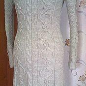 Одежда handmade. Livemaster - original item Warm, knitted dress