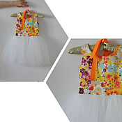 Работы для детей, ручной работы. Ярмарка Мастеров - ручная работа Платье пачка для девочки 116-122. Handmade.