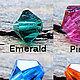 Цвет кристаллов на выбор