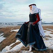 """Одежда ручной работы. Ярмарка Мастеров - ручная работа Средневековое платье """"Красные рукава"""". Handmade."""