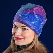 Аксессуары handmade. Livemaster - original item Felted hat....bilateral. Handmade.