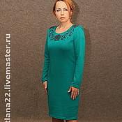 """Одежда ручной работы. Ярмарка Мастеров - ручная работа Вязаное платье""""Для себя любимой-2"""". Handmade."""
