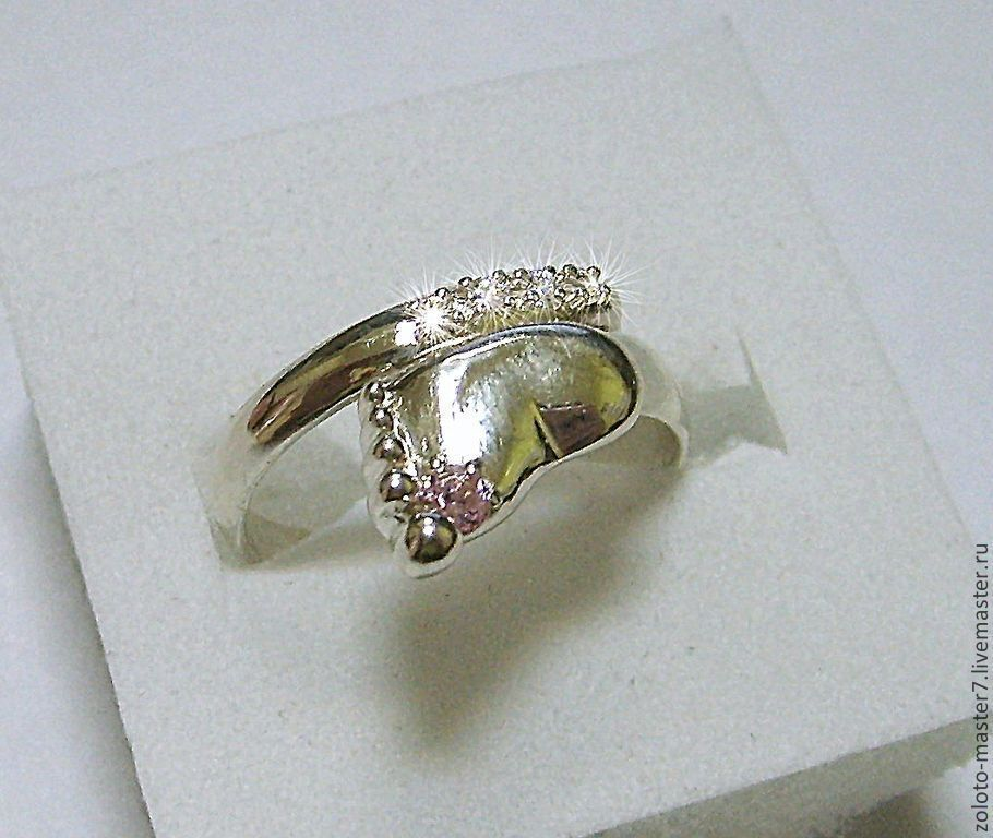Ring silver ' Heel', Rings, Chaikovsky,  Фото №1