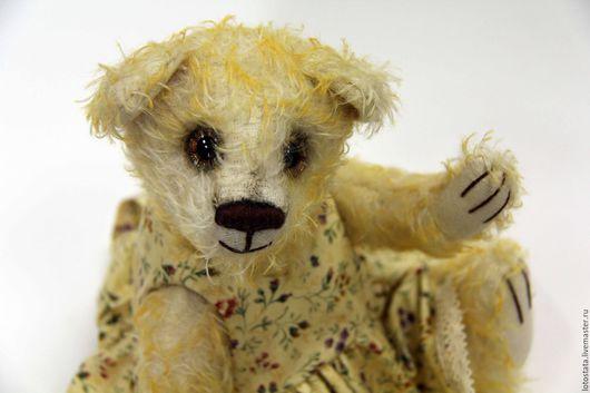 Мишки Тедди ручной работы. Ярмарка Мастеров - ручная работа. Купить Солнечная мишка Пола. Handmade. Желтый, мишки, тедди