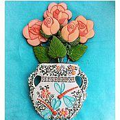 Gingerbread Cookies Set handmade. Livemaster - original item Stick the rose bowl. Handmade.