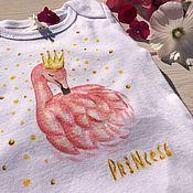 Работы для детей, ручной работы. Ярмарка Мастеров - ручная работа Боди Princess. Handmade.