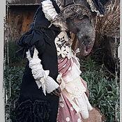 Портретная кукла ручной работы. Ярмарка Мастеров - ручная работа Крыса Шушера. Handmade.