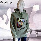 Одежда handmade. Livemaster - original item Hoodie with hood
