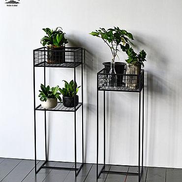 """Для дома и интерьера ручной работы. Ярмарка Мастеров - ручная работа Подставка для цветов """"Grow S"""". Handmade."""