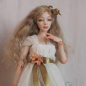 Агата Шарнирная куколка. фарфор. Выс. 40 см