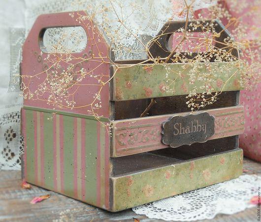 Корзины, коробы ручной работы. Ярмарка Мастеров - ручная работа. Купить Ящик для овощей. Короб Moustiers-Sainte-Marie. Handmade.