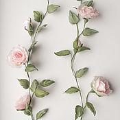 Украшения handmade. Livemaster - original item Sprigs of roses for dresses. Silk flowers. Rose bed canopy. Handmade.