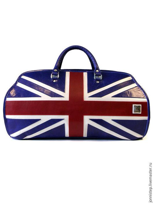 Спортивные сумки ручной работы. Ярмарка Мастеров - ручная работа. Купить Briton. Handmade. Дорожная сумка, сумка из натуральной кожи