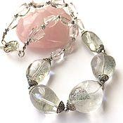 Украшения handmade. Livemaster - original item Necklace Fata Morgana from rock crystal. Handmade.