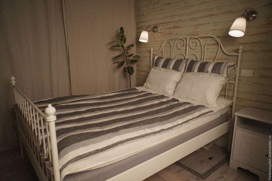 Постельное белье изо льна 1,5 спальный `Чистота и стиль`