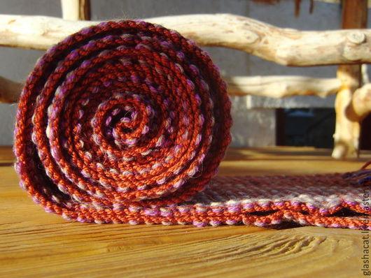 Шарфы и шарфики ручной работы. Ярмарка Мастеров - ручная работа. Купить Яшма. Handmade. Шарф, шерсть 100%