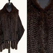 Аксессуары handmade. Livemaster - original item Tippet from knitted mink. Handmade.