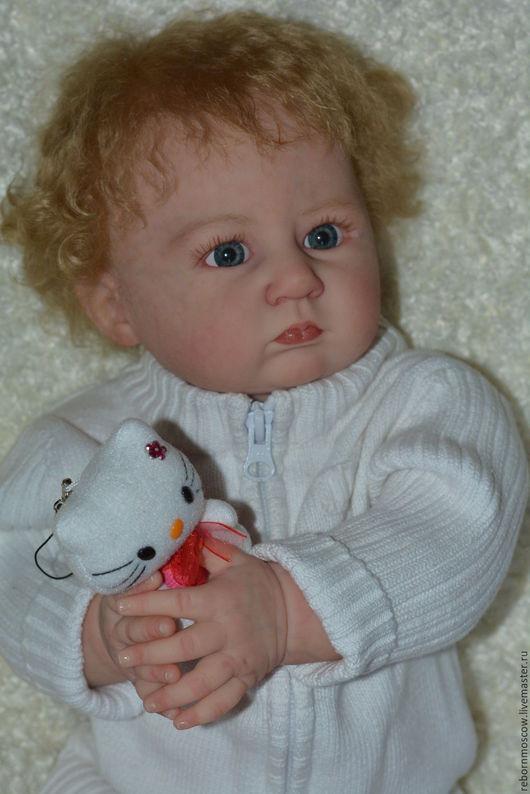Куклы-младенцы и reborn ручной работы. Ярмарка Мастеров - ручная работа. Купить кукла реборн Анюта. Handmade. Бежевый, кукла