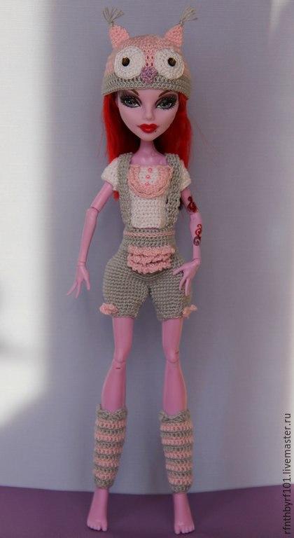 Одежда для кукол ручной работы. Ярмарка Мастеров - ручная работа. Купить Костюм для МХ. Handmade. Разноцветный, комплект для куклы, хлопок