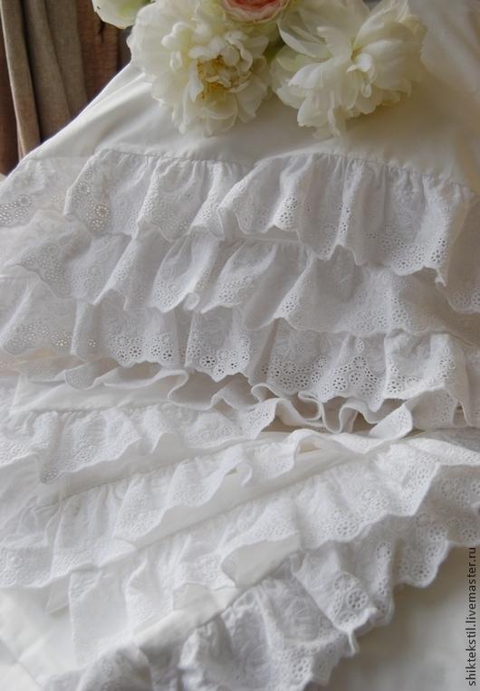 Подарки на свадьбу ручной работы. Ярмарка Мастеров - ручная работа. Купить Постельное белье в стиле шебби шик с кружевом. Подарок на 8 марта. Handmade.