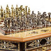 """Подарки на 23 февраля ручной работы. Ярмарка Мастеров - ручная работа #Шахматы эксклюзивные """"Графские"""" 2612-mz. Handmade."""