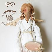 """Куклы и игрушки ручной работы. Ярмарка Мастеров - ручная работа Фея в стиле Тильда """"Чистюля"""". Handmade."""