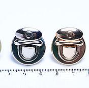 Материалы для творчества ручной работы. Ярмарка Мастеров - ручная работа Замок для сумки, 2,2 на 2,2 см. Handmade.