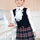 Одежда для девочек, ручной работы. Заказать Сарафан школьный-2. Marussia / Маруся. Ярмарка Мастеров. Сарафан для девочки