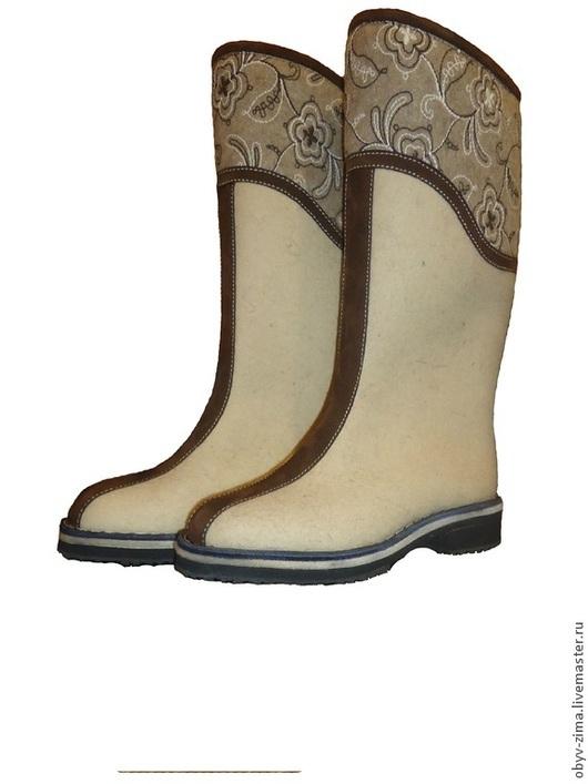 Обувь ручной работы. Ярмарка Мастеров - ручная работа. Купить Бельгия Серая. Handmade. Белый, кожа натуральная