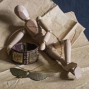 Украшения handmade. Livemaster - original item Leonardo set (bracelet and necklace). Handmade.