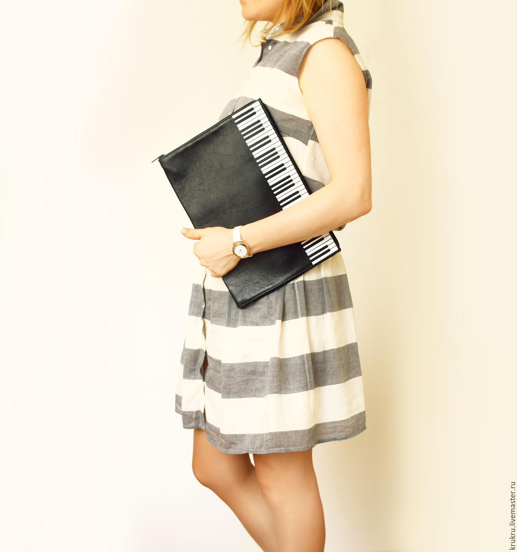 Сумка Папка для бумаг Пианино, Классическая сумка, Москва,  Фото №1