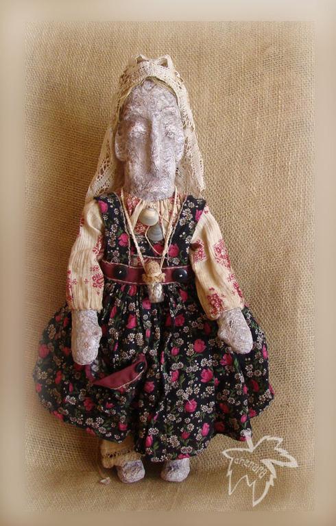 Куклы и игрушки ручной работы. Ярмарка Мастеров - ручная работа. Купить Кукла Долорес. Handmade. Бежевый, берегиня, батист