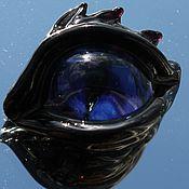 """Материалы для творчества ручной работы. Ярмарка Мастеров - ручная работа Бусина  лэмпворк """"Глаз 2"""". Handmade."""