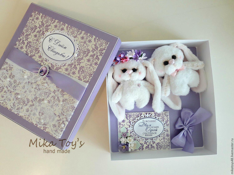 Подарочные коробки на свадьбу