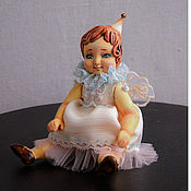 Куклы и игрушки ручной работы. Ярмарка Мастеров - ручная работа Амели Авторская  миниатюрная кукла. Handmade.