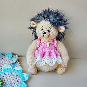 Куклы и игрушки handmade. Livemaster - original item Knitted toy Hedgehog baubles.. Handmade.