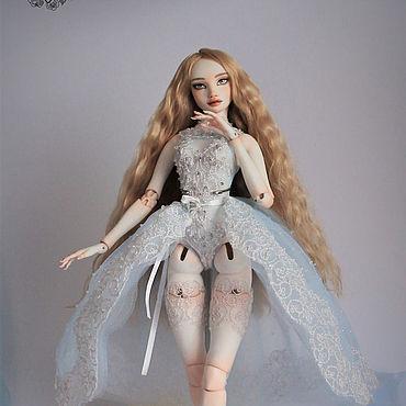 Куклы и игрушки ручной работы. Ярмарка Мастеров - ручная работа Оливия.Фарфоровая шарнирная кукла. Handmade.