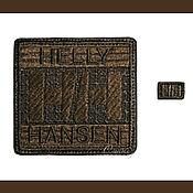 Материалы для творчества handmade. Livemaster - original item Embroidery patch Chevron applique Helly Hansen. Handmade.