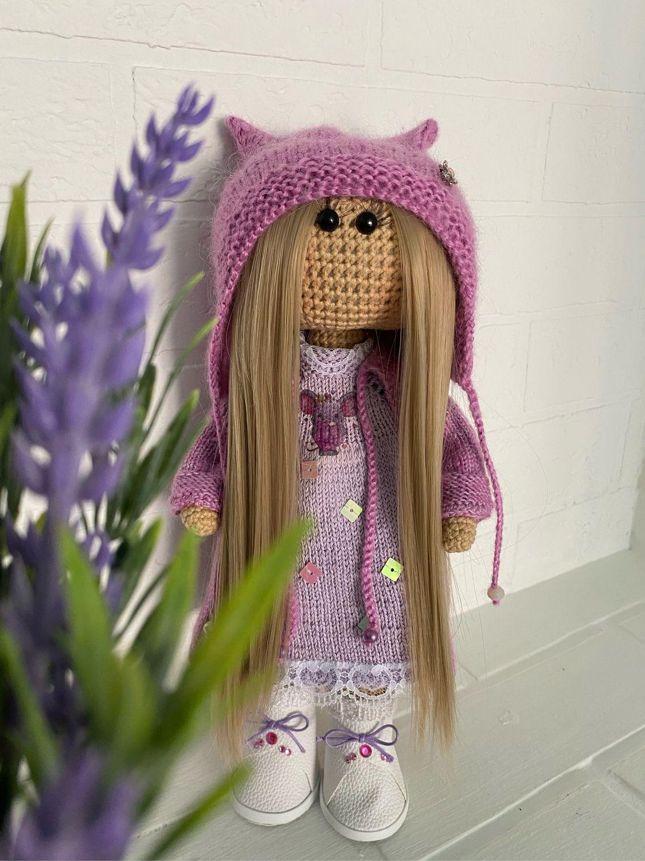 Интерьерные вязаные куклы «Тильда» ручной работы, Куклы Тильда, Губаха,  Фото №1