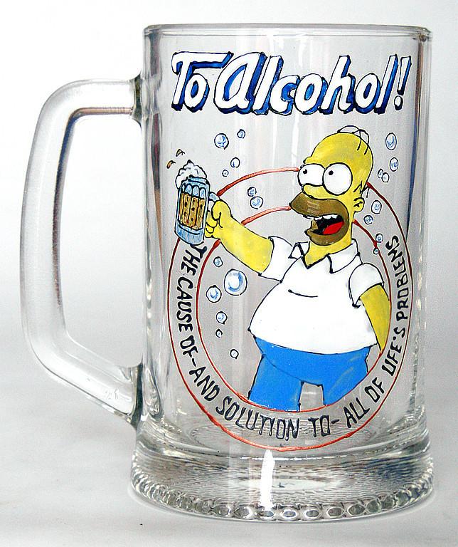 За алкоголь! Причину - и решение - всех жизенных проблем!