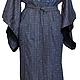 Халаты ручной работы. Ярмарка Мастеров - ручная работа. Купить халат-кимоно. Handmade. Кимоно, халат с вышивкой, хлопок, для бани