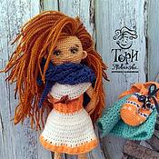 Куклы и игрушки ручной работы. Ярмарка Мастеров - ручная работа Кукла Лизавета. Handmade.