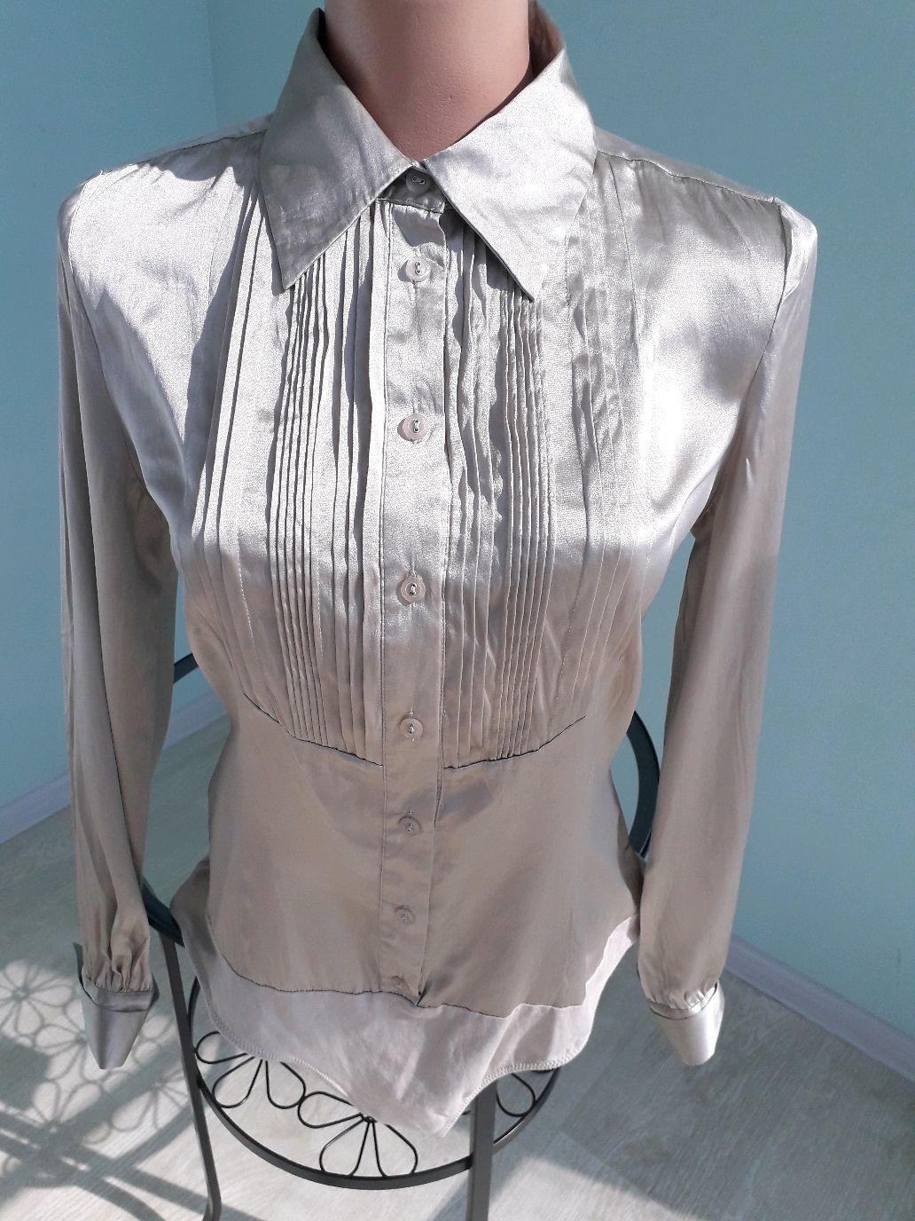 Винтаж: Атласная блузка боди, Одежда винтажная, Новороссийск,  Фото №1