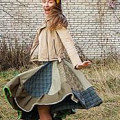 """Юбки ручной работы. Ярмарка Мастеров - ручная работа Юбка игривая, юбка прекрасная """"Мечта в зеленых тонах"""". Handmade."""