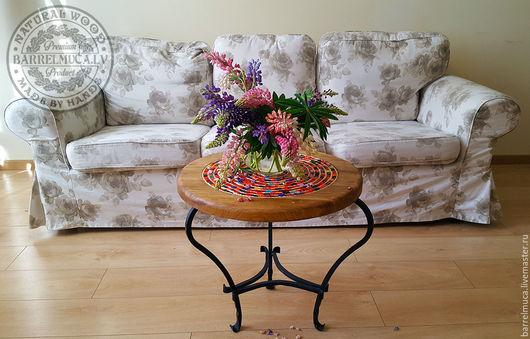 """Мебель ручной работы. Ярмарка Мастеров - ручная работа. Купить Столик """"Парад цвета"""". Handmade. Стол из дерева, стол из дуба"""