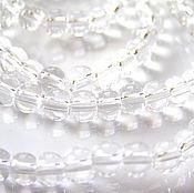 Материалы для творчества handmade. Livemaster - original item Glass beads 4 mm. Handmade.