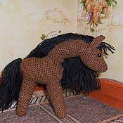 """Куклы и игрушки ручной работы. Ярмарка Мастеров - ручная работа Вязаная игрушка """"Лошадка"""". Handmade."""