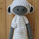 Игрушки животные, ручной работы. Заказать Кукла Лупо в костюме овечки. Кербенёва Анна. Ярмарка Мастеров. Овечка, в подарок