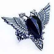 Украшения handmade. Livemaster - original item Ring Calypso Black onyx. Handmade.